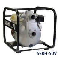 Бензинова самозасмукваща помпа Koshin 8A / 2'' , 3.7 kW , воден стълб 80 m / с двигател Honda GX160