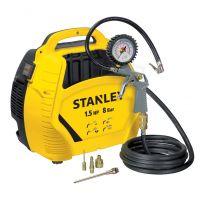 Електрически компресор Stanley 8215190 / 1.1 kW , 8 bar / + аксесоари