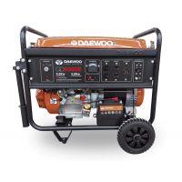 Бензинов монофазен генератор DAEWOO GD 6000E / ел. старт / 5,5kW, 25 l