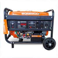 Бензинов монофазен генератор DAEWOO GD 3000 / ръчен старт / 2,8kW, 15 l