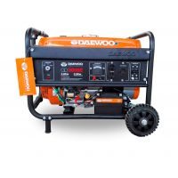 Бензинов монофазен генератор DAEWOO GD 3000E / ел. старт / 2,8kW, 15 l