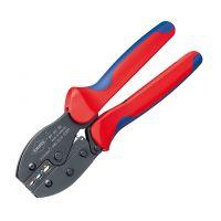 Клещи кербовъчни за изолирани кабелни обувки Knipex / 0,5 - 6,0 mm2 /