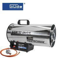Газов отоплител GUDE GGH 17 INOX / 17 kW,  230 V,  500 mbar /