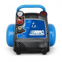 Въздушен безмаслен компресор ABAC Start 015 / 180 литра/мин ; 8 бара /