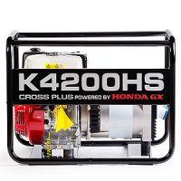 Генератор за ток Cross Plus K4200HS / с двигател Honda GX270 монофазен, синхронен, безчетков, 2-полюсен ,AVR, 4.2 kVA/