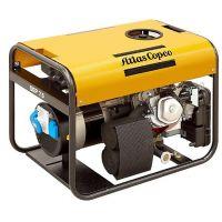 Бензинов трифазен генератор Atlas Copco QEP8 /6,6 kW, HONDA GX390/