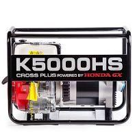 Генератор за ток Cross plus K5000HS/ двигател Honda GX270 ,4-тактов OHV, AVR, 5.0 kVA/
