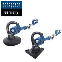 Шлайф машина - жираф за стени и тавани Scheppach DS930 2в1  / триъгълна глава ; 26 бр. шкурки ;  710 W, 225 mm /