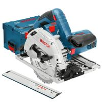 Ръчен циркуляр Bosch GKS 55+ G Professional / 1200 W , L-Boxx, FSN 1600/