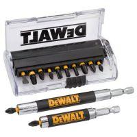 Комплект накрайници за ударен винтоверт + 2 бр. магнитни удължители DeWALT