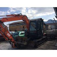 Минибагер/ Mini excavator Hitachi ZX 85 US-5 ECO 63,000лв. без ДДС/ 32000 Eur excl. VAT