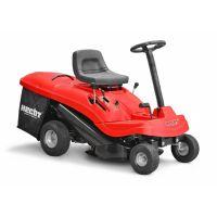 Тракторна косачка, мини райдер HECHT 5161 с двигател LONCIN / 6,5 HP ,  61 см / с кош ,   електрически стартер /