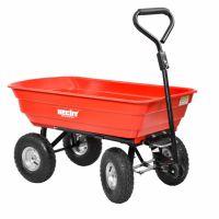 Градинска количка HECHT 52145  / 250 kg , 110 x 51 x 97 cm. /