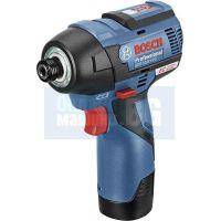 Акумулаторен ударен гайковерт Bosch GDS 12V-115 Professional /L-Boxx, без батерия и зарядно устройство/