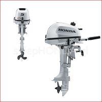 Извънбордови двигател четиритактов HONDA BF5  /къс ботуш, 6А алтернатор/