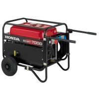 Трифазен бензинов генератор Honda ECMT7000  /4.0/7.0 kVA, голям резервоар/
