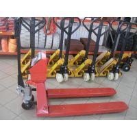 Транспалетна количка с електронна везна Apex NOB10002 / 2000 кг /