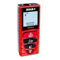 Лазерна противоударна ролетка SOLA Vector 40 / 0.20- 40.00 м, +/-1.5 мм /