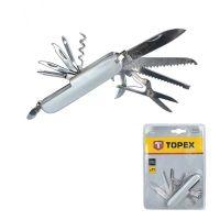 Джобно ножче Topex мултифункционално 11 части