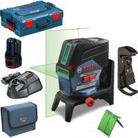 Линеен лазер Bosch GCL2-50CG +RM2 +BM3 +12V Bat.EU (Lboxx 136)