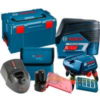Линеен лазер Bosch GCL 2-50 C +RM3 +RC2 +12V Bat. (L-boxx 238)