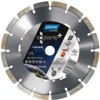 Диамантен диск за асфалт , бетон , гранит и метал Norton 4x4 EXPLORER + / Ø 230 мм , вътрешен диаметър на диска Ø 22.23 мм /