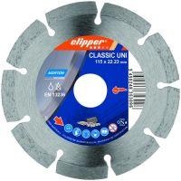 Диамантен диск за строителни материали Norton Classic UNI  / Ø 125 мм , вътрешен диаметър на диска Ø 22,23 мм /