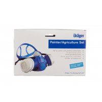 Предпазна маска с филтър Дрегер/Dräger X-plore® 3300 M and A2 P3 R D / М / - подходяща за боядисване
