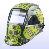 Соларна маска за заваряване Argo Yoga flower skull / TIG функция, 5 - 8 и 9 - 13 /