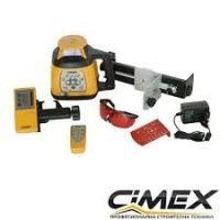 Ротационен лазерен нивелир CIMEX HV500L /30 м., 4,6 кг./