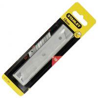 Резервно oстрие за голям макетен нож 18 мм Stanley / 10 броя /