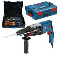 Перфоратор Bosch GBH 2-28 F Professional + комплект Gedore 26 бр. в L-Boxx / 880 W , 3,2 J /
