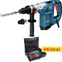 Перфоратор SDS plus  Bosch GBH 4-32 DFR в L-Boxx + комплект Gedore 26 бр. в L-Boxx / 900 W , 4,2 J /