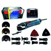 Мултифункционален инструмент Bosch GOP 40-30  + комплект консумативи / 400 W , 8000-20000 1/мин /