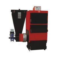 Стоманен котел с бункер за пелети EK3G/S50 /дигитален панел, триходов дизайн, 58 kW/