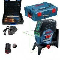 Линеен лазер Bosch GCL2-50CG +RM2 +BM3 +12V Bat.EU (Lboxx 136) + комплект Gedore 26 бр. в L-Boxx