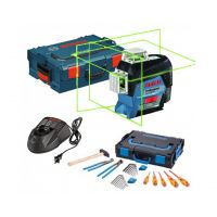 Линеен лазер Bosch GLL 3-80 CG + комплект Gedore 26 бр. в L-Boxx