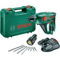 Акумулаторен перфоратор Bosch Uneo / 12 V , 2,5 Ah , 0 – 280 / 900 min-1 /