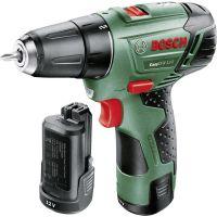 Акумулаторен двускоростен пробивен винтоверт Bosch EasyDrill 12-2 / 12 V , 2,5 Ah /
