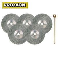 Комплект дискове от неръждаема стомана PROXXON PRXN 28956 /5 броя, 22 мм./