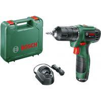 Акумулаторен пробивен винтоверт Bosch EasyDrill 1200 / 12 V , 1,5 Ah , 0 – 450 / 1.650 min-1 /