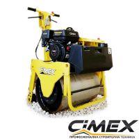 Едноосен ръчноводим валяк с вибрация и реверс CIMEX VR160 /266 кг./