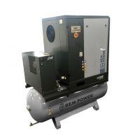 Компресор винтов Elektro Maschinen EPM 1504/10/500 DR /10 bar, 1500 л/мин, 14.7 HP