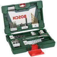 Комплект TiN-свредла и битове с магнитен държач Bosch V-Line /48 части/