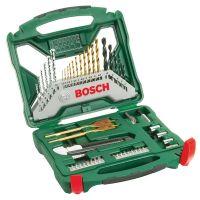 Комплект свредла и битове Bosch X-Line Titanium /50 части/
