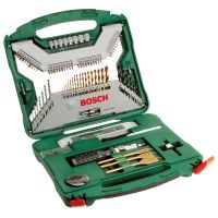 Комплект свредели и битове Bosch X-Line Titanium /100 части/