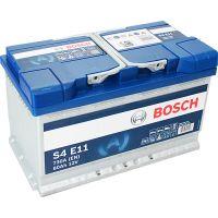 Акумулатор Bosch S4E 80 Ah - EFB / R + , 730 EN /