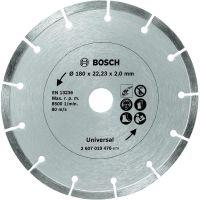 Диамантен диск за рязане на строителен материал Bosch /Ø 180 мм./