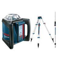 Ротационен лазерен нивелир Bosch GRL 500 HV + BT 170 HD Статив +GR 240 Лата +LR 50 приемник