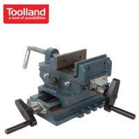 Менгеме машинно кръстато / двуосно Toolland WCV100 / 100 мм /
